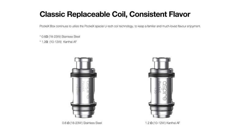 Class Replaceable Coils or Consistent Flavour