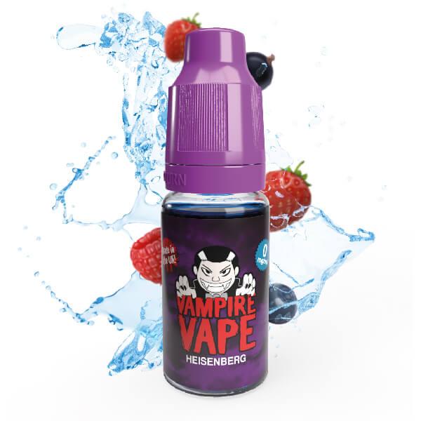 Heisenberg award-winning flavour e-liquids