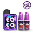 Uwell Caliburn Koko Prime Kit + 2 E-Liquids Bundle