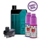 Smok Fetch Mini Kit + 1 Replacement Pod + 2 Nic Salts Bottles