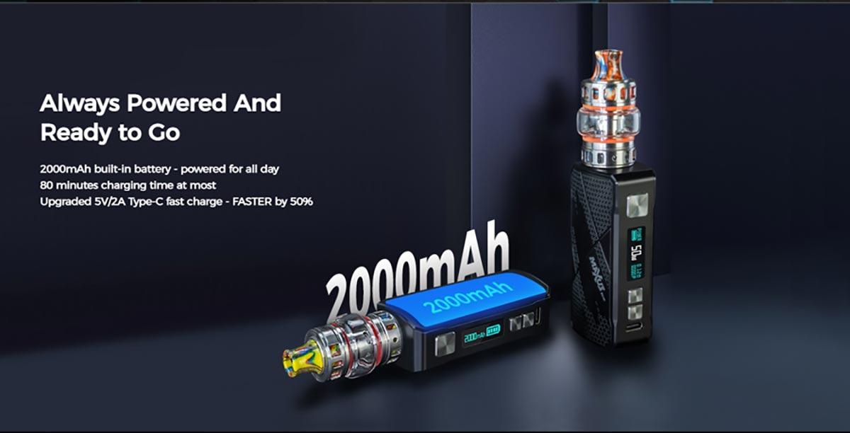 FreeMax Maxus 50W Kit wattage