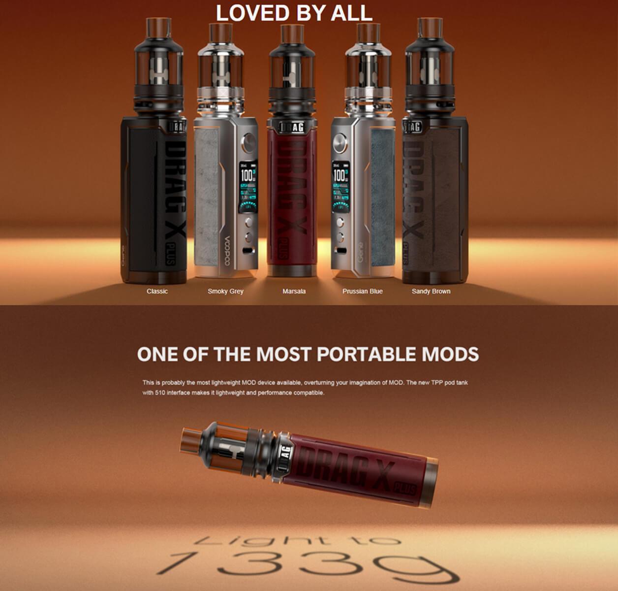 VooPoo Drag X portable