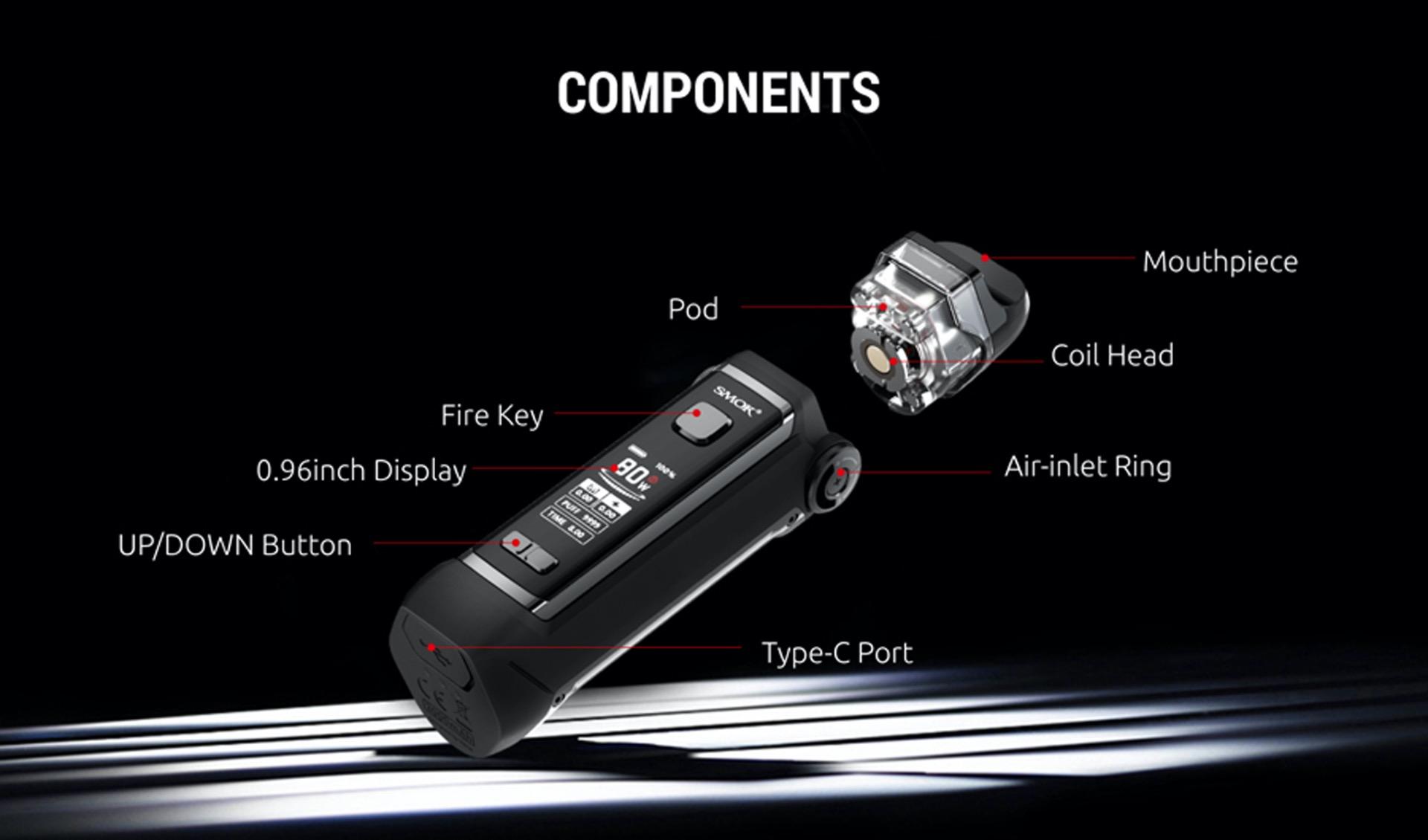 Smok IPX 80 components