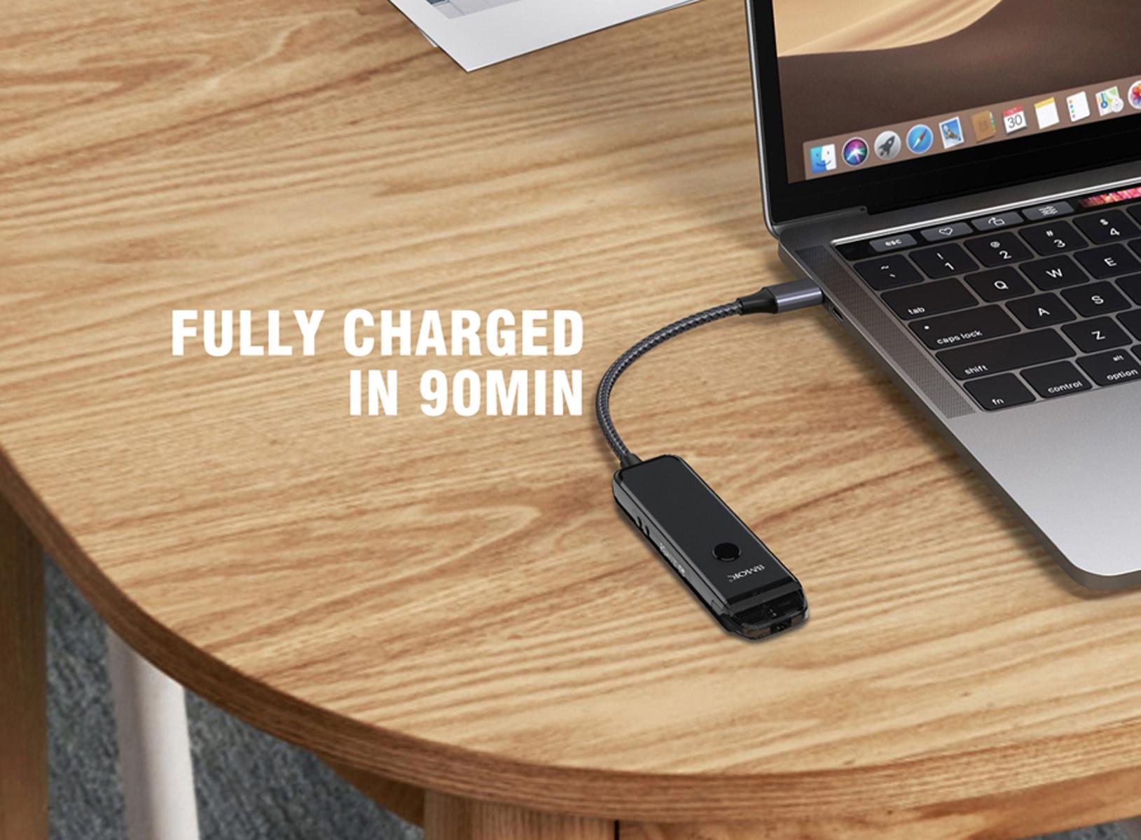 90min charge