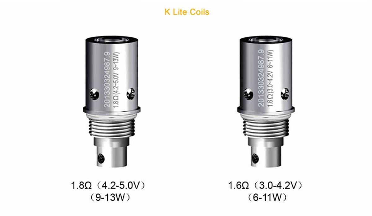 Aspire K-Lite Kit coils