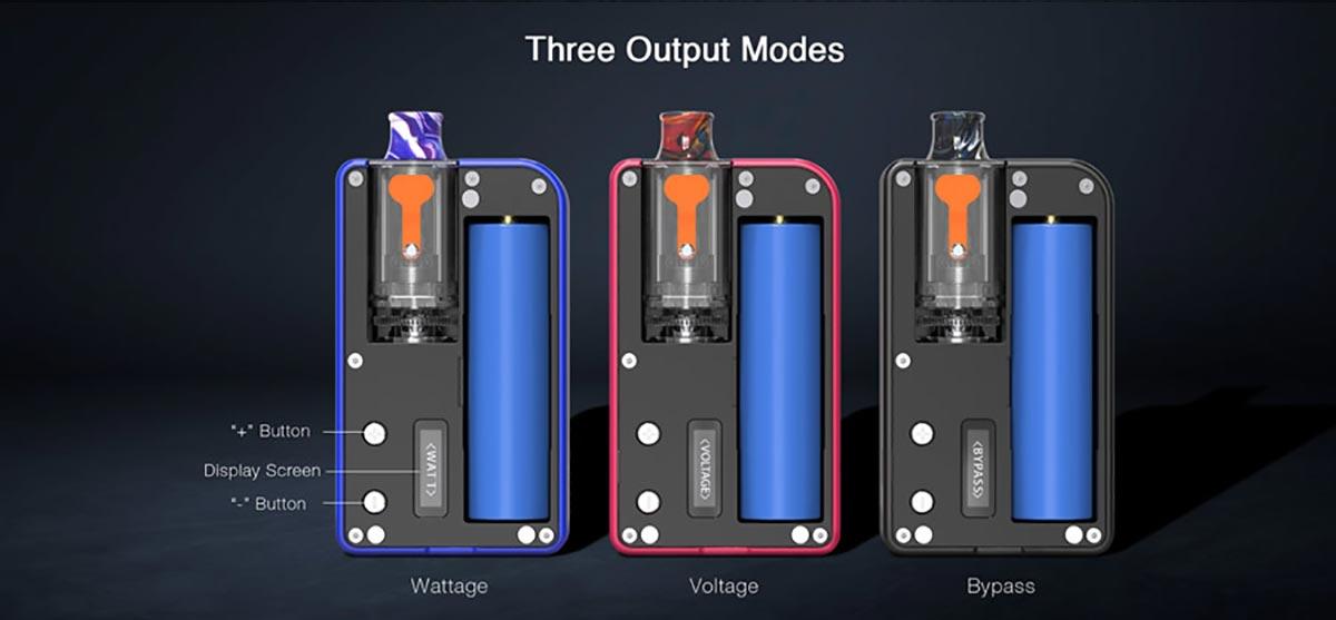 output modes