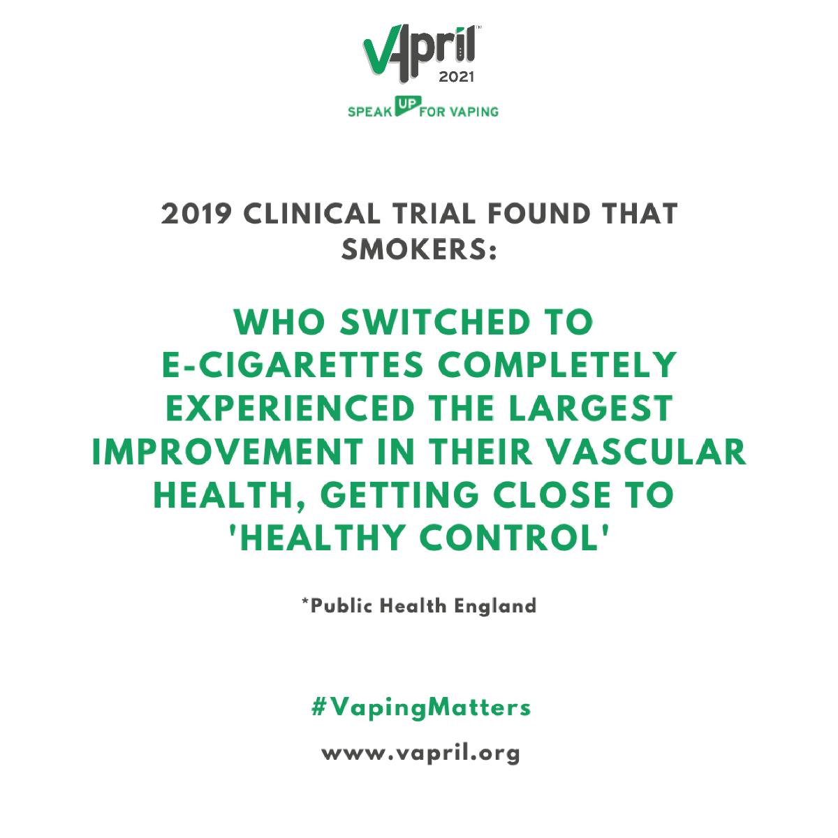 Vapril 2021 clinical trials