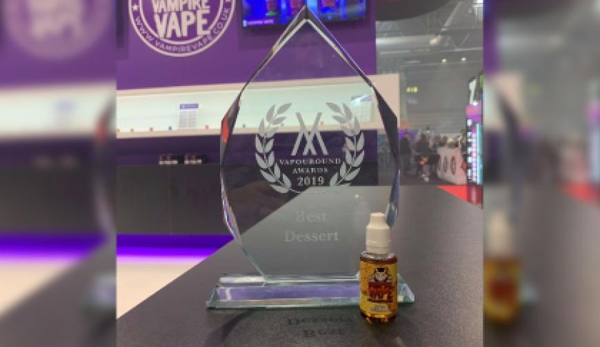 Vampire Vape Wins Best Dessert at the Vapouround Awards!