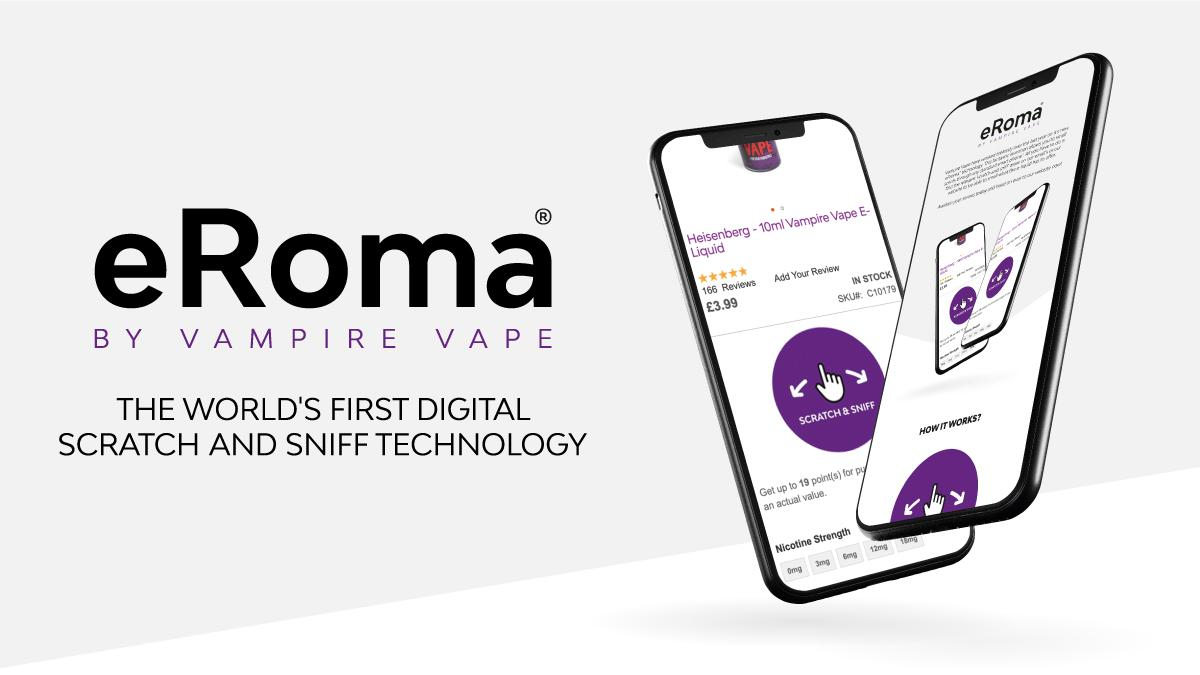 Introducing eRoma® : The world's first digital scratch  and sniff technology