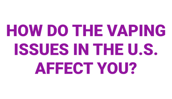 US Vaping Ban - What it means for UK Vapers