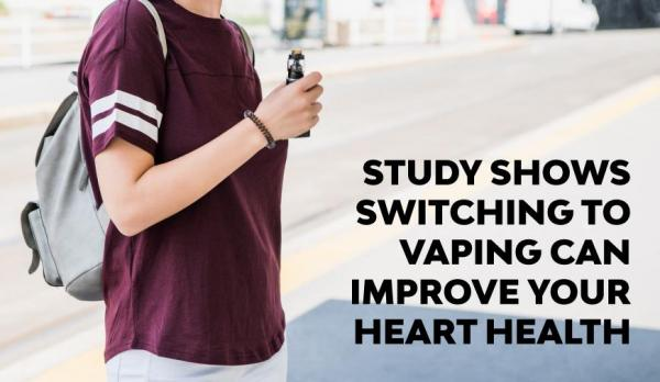 Making The Switch to Vaping Can Improve Your Heart Health